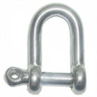 Stainless Steel Rated 'D' Shackle - Screw Pin product image