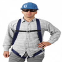 Contractor Single Point Harness product image